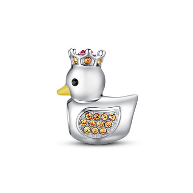 PLEASING DUCK CHARM - SWAROVSKI