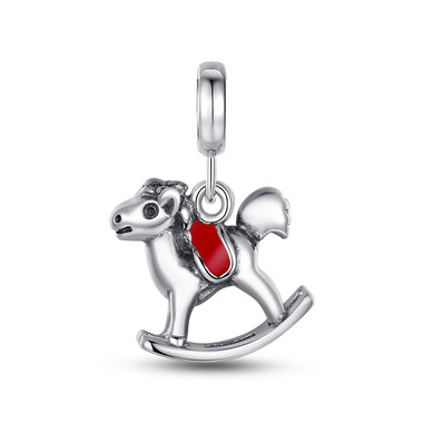 ROCKING HORSE DANGLE CHARM
