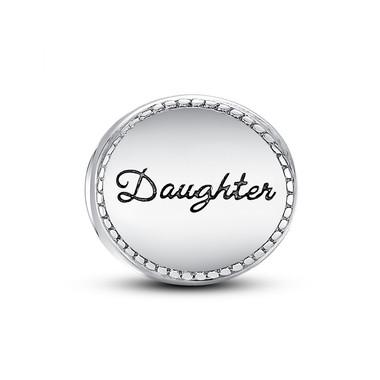 DAUGHTER MEDALLION CHARM