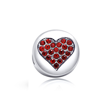 Love HEART CHARM -SWAROVSKI