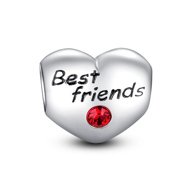BEST FRIENDS HEART CHARM