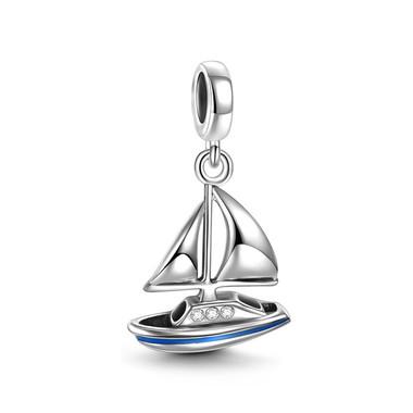 Sailing Boat Pendant Charm