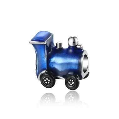 Blue Train Charm