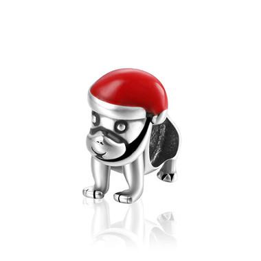 Christmas dog Charm