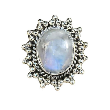 MOONSTONE RING - MOON CHILD