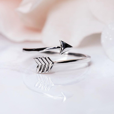 SILVER RING - ARROW