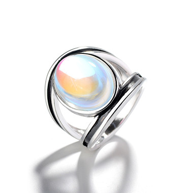 MOONSTONE RING - COLORFUL