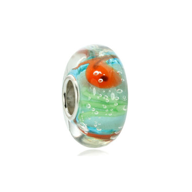 Goldfish Murano Glass Bead
