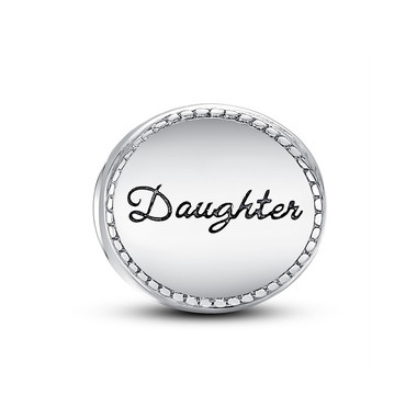 DAUGHTER MEDALLION CHARM