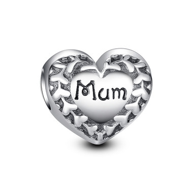 ALL AROUND HEART MUM CHARM