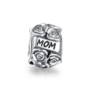 MOM ROSE BOUQUET CHARM