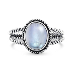 MOONSTONE RING - LYNX LIGHT