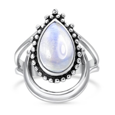 MOONSTONE RING - MYSTIC MOON