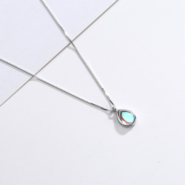 MOONSTONE PENDANT - WATER DROPLET