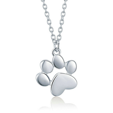 GOLD PLATING NECKLACE--DOG