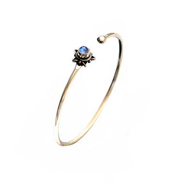 MOONSTONE CUFF - SHINING STAR