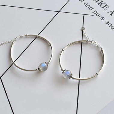 MOONSTONE CUFF - GOOD LUCK