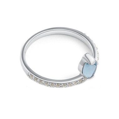 MOONSTONE  RING - TRICKLING GRACE