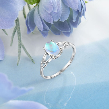 MOONSTONE RING - ALMA