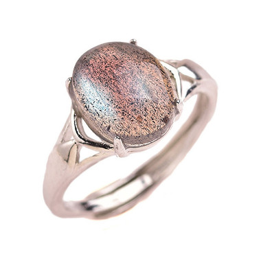 MOONSTONE RING - GREY MOONLIGHT