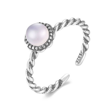 MOONSTONE RING - KNIT