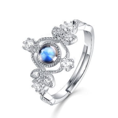 MOONSTONE RING --NOBLE