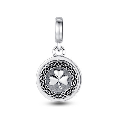 LUCKY SOUL CLOVER DANGLE CHARM