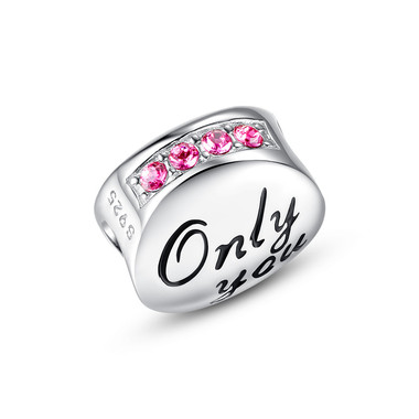 """ONLY YOU"" MEDALLION CHARM - SWAROVSKI"