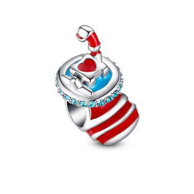 CHRISTMAS STOCKING CHARM