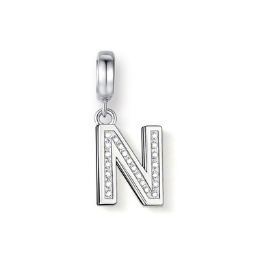 "CRYSTAL ""N"" DANGLE CHARM"